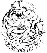 Birds and Bees t-shirt art