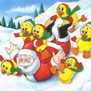Santa & the Duck tape Ducks