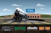 Jergens- Train turn around