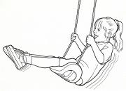 little tikes-Swing