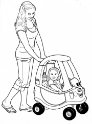 little tikes-mom-and-daughter